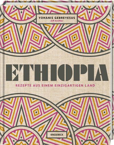 """Foto mit Abbildung des Buchcovers """"Ethiopia - Rezepte aus einem einzigartigen Land"""""""