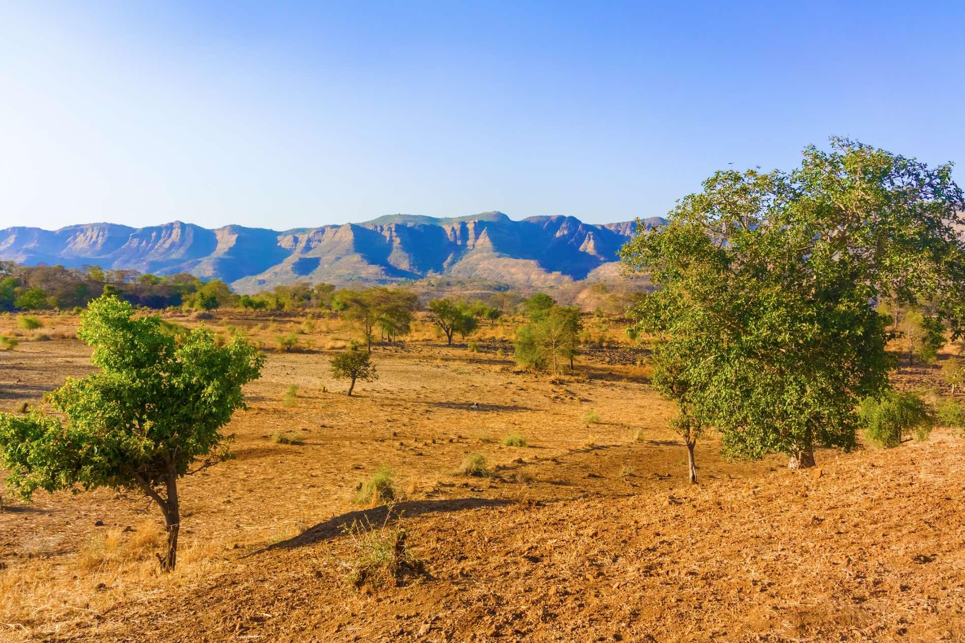 Foto einer Landschaft in Eritrea