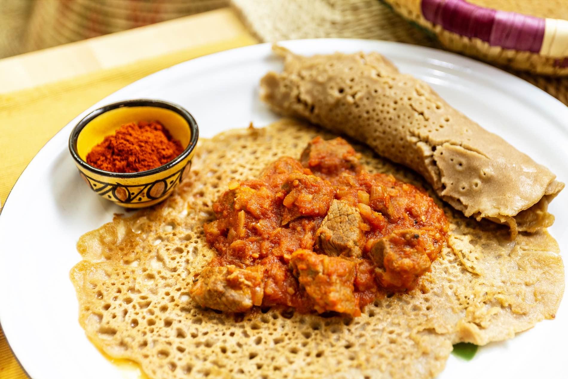 Habesha Food Schmorfleisch MG 3891