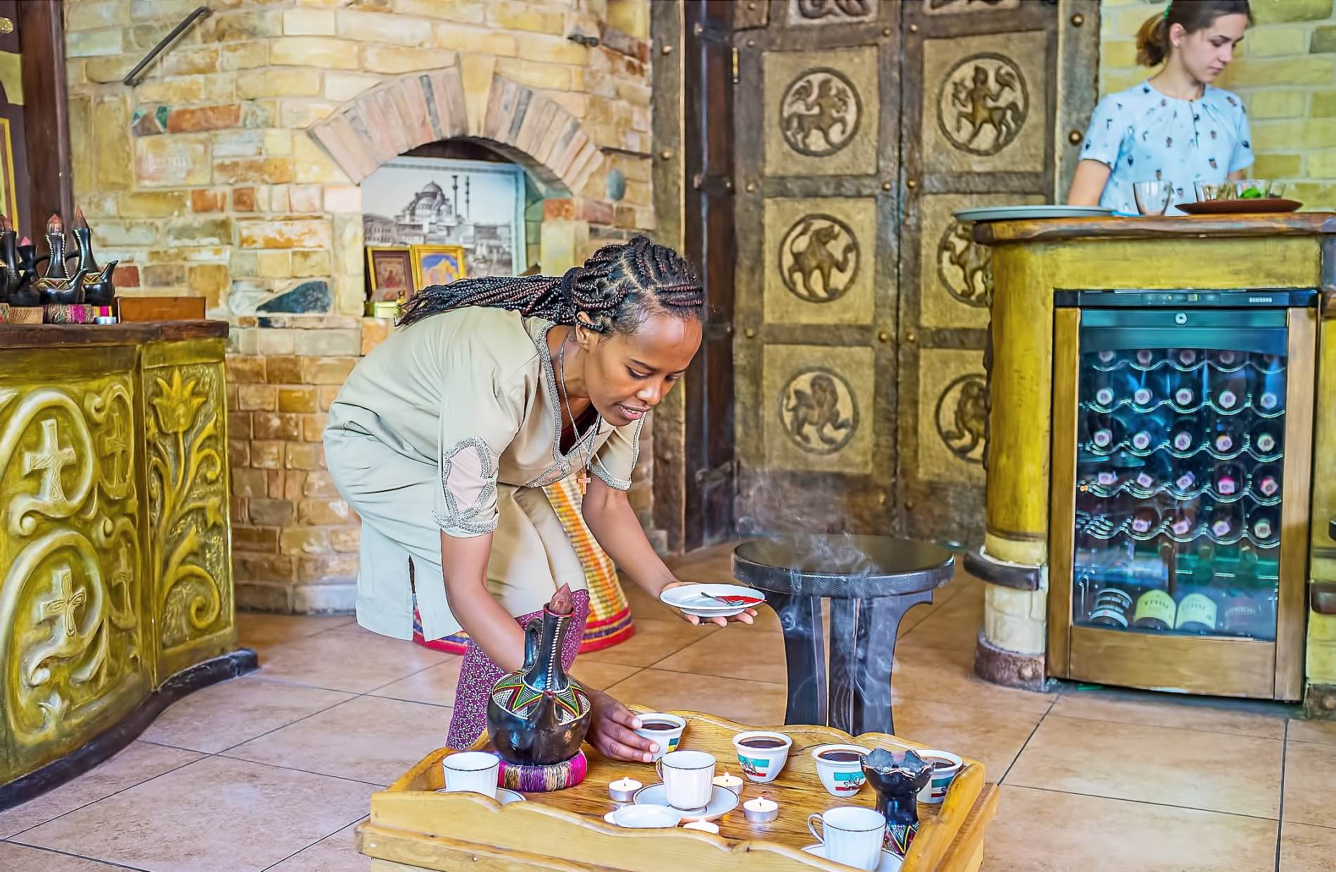 Dreamstime Habeshafood Coffee Ceremony Woman 98384471