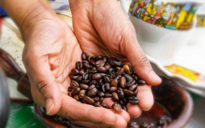 Die traditionelle äthiopische Kaffeezeremonie