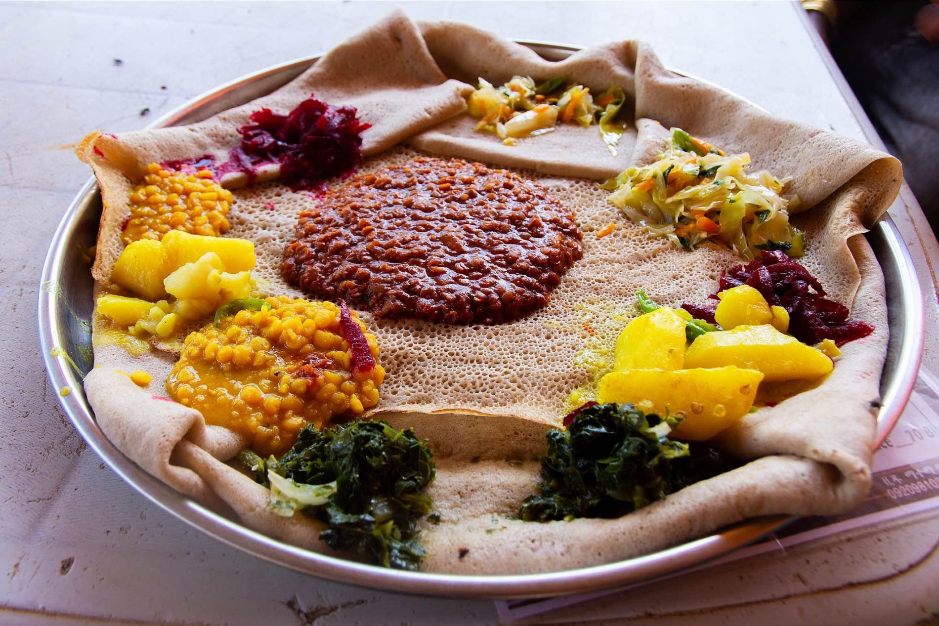 Dreamstime Habeshafood Injera Food 160097707