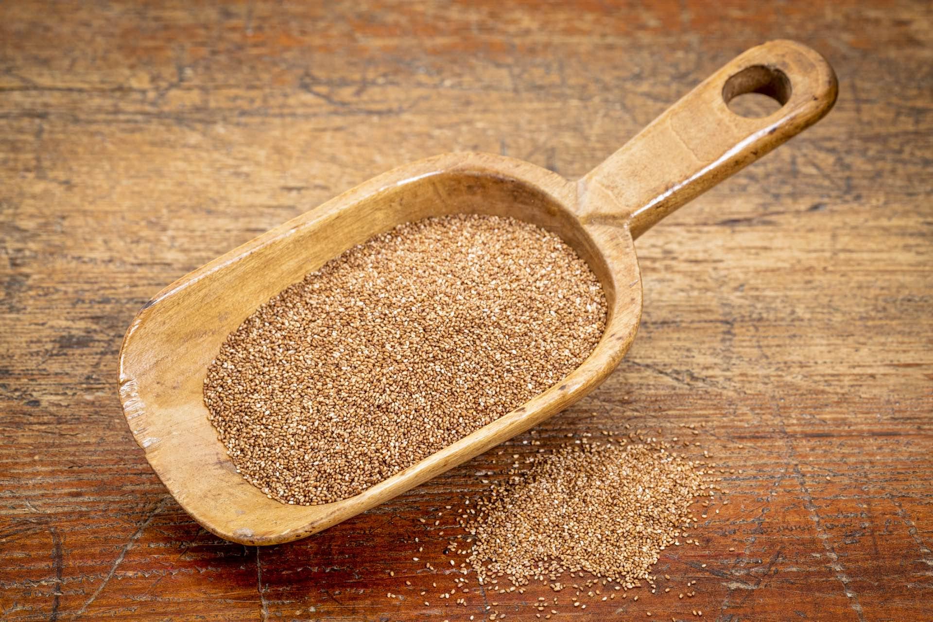 Teff Zwerghirse das glutenfreie Getreide